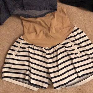Three pairs of Maternity shorts